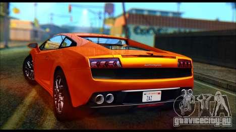Lamborghini Gallardo LP560 PJ для GTA San Andreas