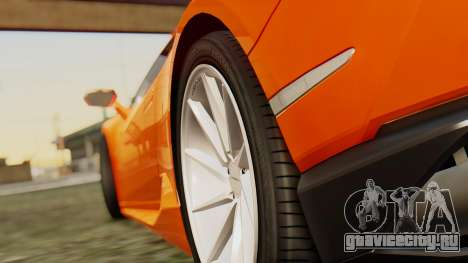 Lamborghini Huracan LP610-4 2015 для GTA San Andreas вид справа