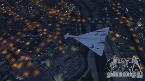 XB-70 Valkyrie для GTA 5 седьмой скриншот