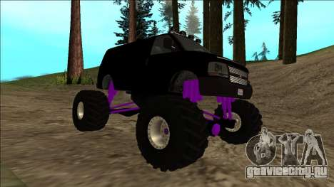 GTA 5 Vapid Speedo Monster Truck для GTA San Andreas вид сверху