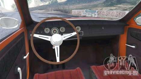 Saab 96 для GTA 5 вид сзади справа