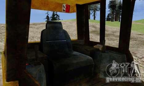 New Dozer для GTA San Andreas вид сзади слева
