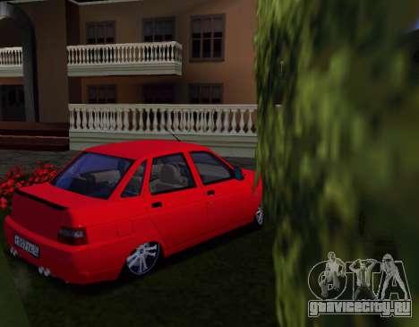 ВАЗ 2110 KBR для GTA San Andreas вид справа