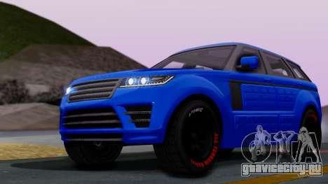 GTA 5 Gallivanter Baller LE Arm для GTA San Andreas
