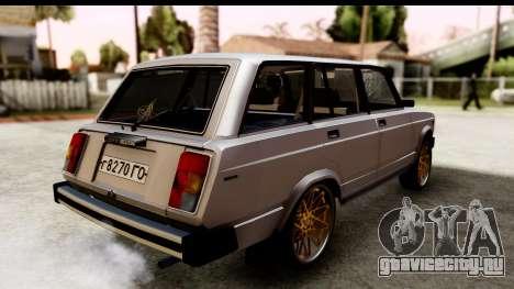 ВАЗ 2104 Turkish Edition для GTA San Andreas вид слева