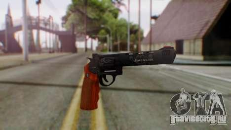 GTA 5 Bodyguard Revolver для GTA San Andreas