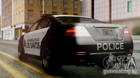 GTA 5 Police LS для GTA San Andreas вид слева