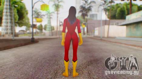Marvel Heroes Spider-Woman для GTA San Andreas третий скриншот