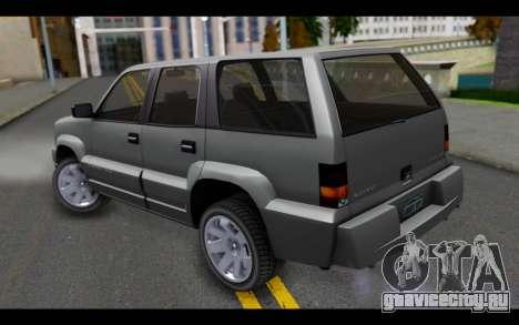 GTA 5 Albany Cavalcade IVF для GTA San Andreas вид слева