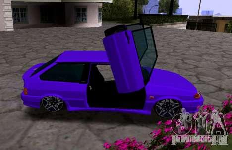 VAZ 2113 KBR для GTA San Andreas вид справа