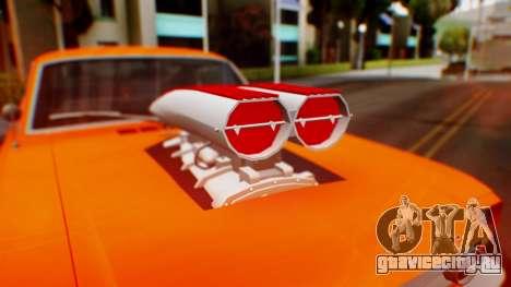 Ford Mustang 1966 Chrome Edition v2 Monster для GTA San Andreas вид сбоку