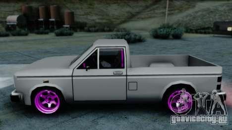 Bobcat Drift для GTA San Andreas вид сзади слева