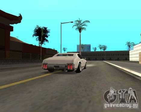 Sabre Boso для GTA San Andreas вид справа