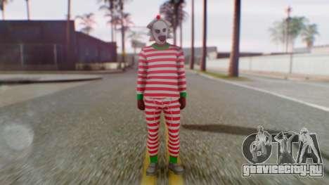 GTA Online Festive Surprise Skin 3 для GTA San Andreas второй скриншот