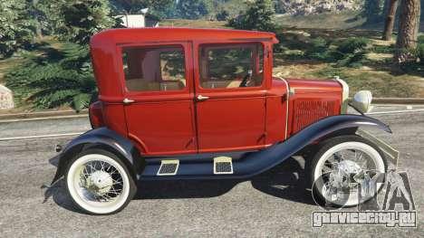 Ford Model A [mafia style] для GTA 5 вид слева