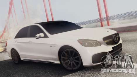 Mercedes-Benz E63 AMG PML Edition для GTA San Andreas салон