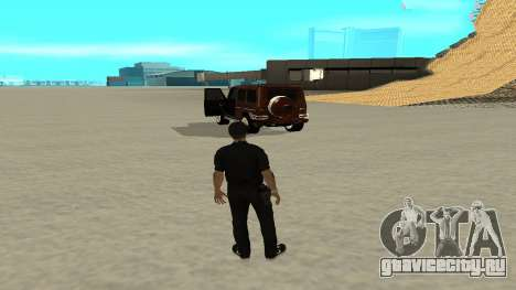 Быстрый выход из транспорта для GTA San Andreas