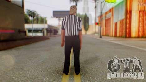 WWE Arbitro для GTA San Andreas третий скриншот