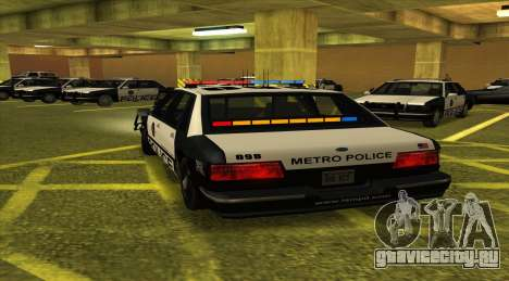 Police LS для GTA San Andreas вид сзади слева