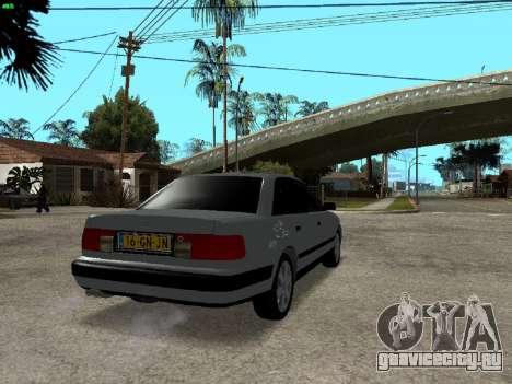 Audi 100 C4 1992 для GTA San Andreas вид сзади слева
