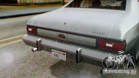 Ford Gran Torino 1974 IVF для GTA San Andreas вид сбоку