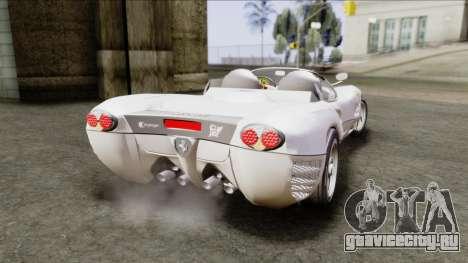 Ferrari P7 Yrid для GTA San Andreas вид слева