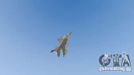 F-16C Fighting Falcon для GTA 5 восьмой скриншот