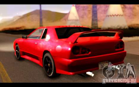 ElegyX для GTA San Andreas вид слева