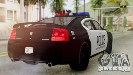 New Police LS для GTA San Andreas вид слева