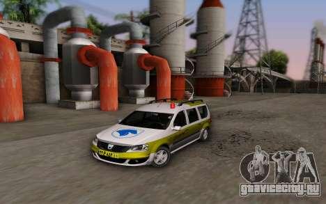 Dacia Logan Emdad Khodro для GTA San Andreas