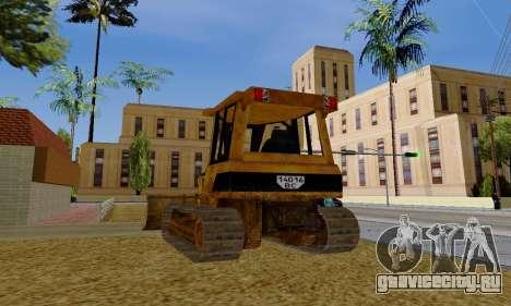New Dozer для GTA San Andreas вид справа