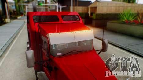 Kenworth T600 Aerocab 72 Sleeper для GTA San Andreas двигатель