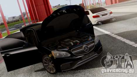 Mercedes-Benz E63 AMG PML Edition для GTA San Andreas вид сбоку