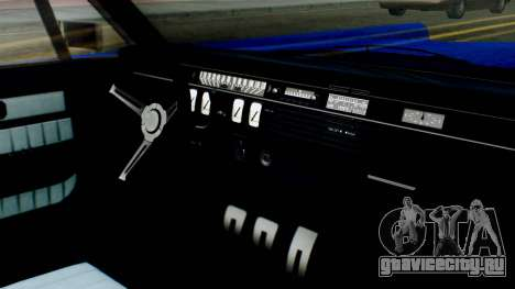 GTA 5 Vapid Chino Tunable IVF для GTA San Andreas вид сзади