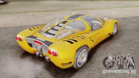 Ferrari P7 Normal для GTA San Andreas вид слева