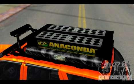 Chevrolet Traiblazer Off-Road для GTA San Andreas вид сбоку