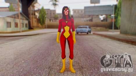 Marvel Heroes Spider-Woman для GTA San Andreas второй скриншот
