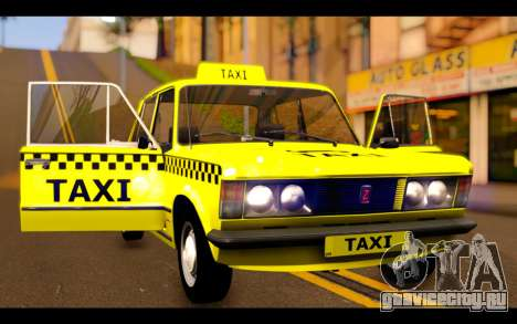 Zastava 125PZ Taxi для GTA San Andreas вид сбоку