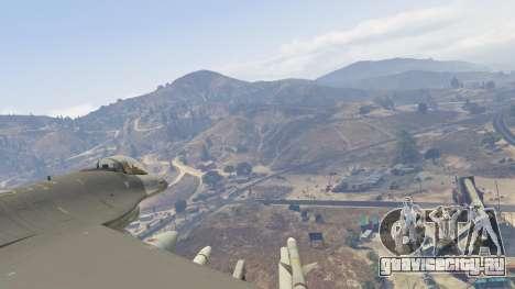 F-16C Fighting Falcon для GTA 5 седьмой скриншот