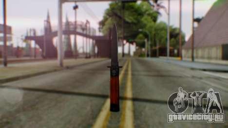 GTA 5 Bodyguard Switchblade для GTA San Andreas второй скриншот