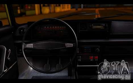 Zastava 125PZ Taxi для GTA San Andreas вид сзади слева