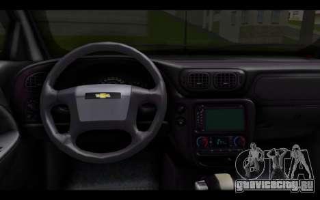 Chevrolet Traiblazer Off-Road для GTA San Andreas вид сзади слева