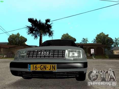 Audi 100 C4 1992 для GTA San Andreas вид сзади