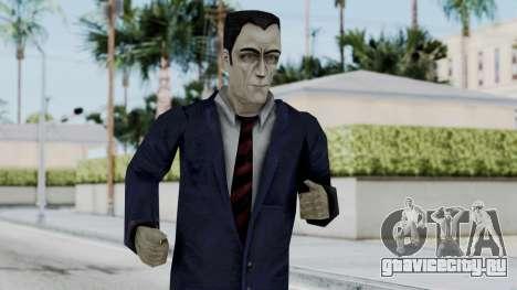 GMAN v2 from Half Life для GTA San Andreas