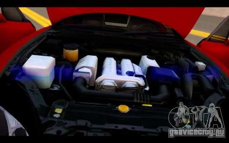 Mazda MX-5 для GTA San Andreas вид сверху