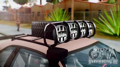 Nissan Skyline GT-R R34 RAID Spec для GTA San Andreas вид сзади