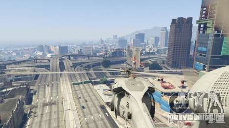 MH-60S Knighthawk для GTA 5 седьмой скриншот