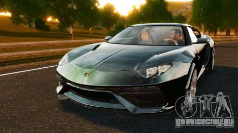 Lamborghini Asterion LP900 для GTA 4 вид изнутри