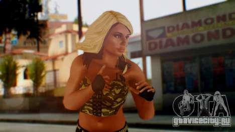 WWE Kaitlyn для GTA San Andreas