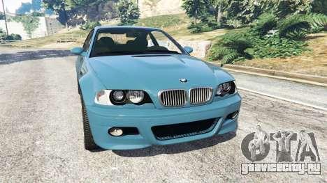BMW M3 (E46) 2005 для GTA 5
